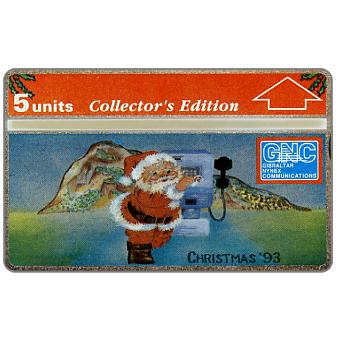 Phonecard for sale: Christmas '93, 5 units