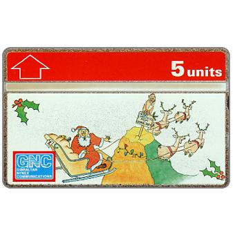 Phonecard for sale: Christmas 1994, 5 units