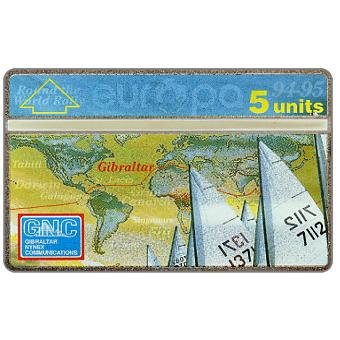 Phonecard for sale: 2nd Europa Round the World Rally, 5 units