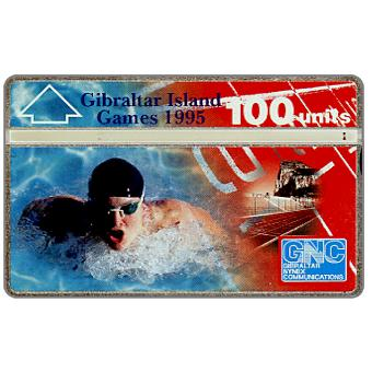 Phonecard for sale: Gibraltar Island Games, 100 units