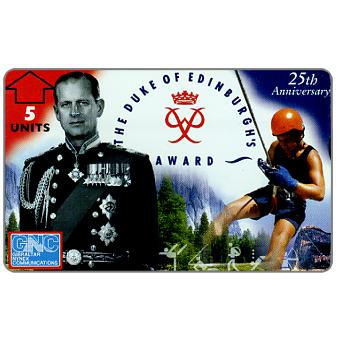 Phonecard for sale: The Duke of Edinburgh's Award, 5 units