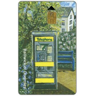 Phonecard for sale: First issue, Telephone kiosk, £3
