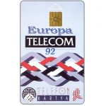 The Phonecard Shop: Europa Telecom 1992, 120 units