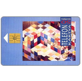 The Phonecard Shop: Hungary, Rubik cube, 50 units