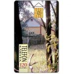 Phonecard for sale: House among trees, 120 units