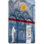 Phonecard for sale: Palace and statue, 120 units