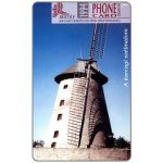 Phonecard for sale: Windmills Puzzle 1/4, Karcag, 50 units