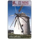 Phonecard for sale: Windmills Puzzle 3/4, Tes, 50 units