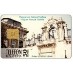 Phonecard for sale: Hungarian National Gallery, altar-piece, 50 units