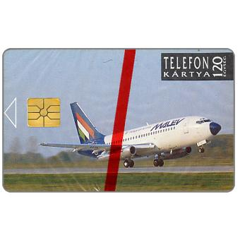 Phonecard for sale: Malev, Hungarian Airlines, 120 units