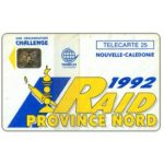 The Phonecard Shop: New Caledonia, Raid Province Nord, 25 units