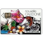 The Phonecard Shop: New Caledonia, Montage, chip SC-4, 80 units