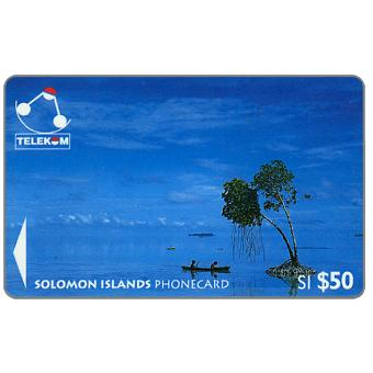 The Phonecard Shop: Canoe-Paddling, Sikaiana, $50