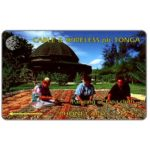 The Phonecard Shop: Tonga, First issue, Tapa Cloth, T$5