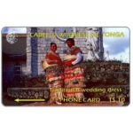 The Phonecard Shop: Tonga, First issue, Wedding Dress, T$10