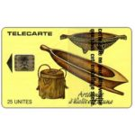The Phonecard Shop: New Caledonia, Local artisanat, chip SC-5, 25 units