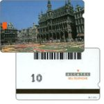 The Phonecard Shop: Brussels Town Hall, internal test card, 10 units