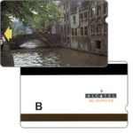"The Phonecard Shop: Belgium, Trial card, Bruges Bridge, value ""B"""