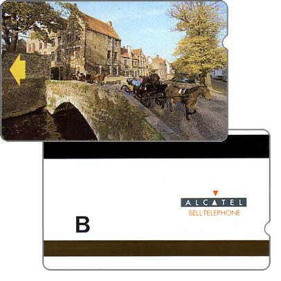 "The Phonecard Shop: Trial card, Bruges Coach, value ""B"""