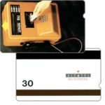 "The Phonecard Shop: Trial card, cardphone, value ""30"""