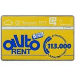 The Phonecard Shop: Belgium, Autorent, 20 units