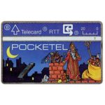 The Phonecard Shop: Belgium, Pocketel, 20 units