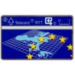 The Phonecard Shop: Belgium, Europe, 20 units