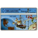 The Phonecard Shop: Belgium, Christopher Columbus, discovery of America, 20 units