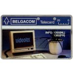 The Phonecard Shop: Belgium, Videotex, 20 units