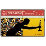The Phonecard Shop: Belgium, Art in Belgium since 1980, silhouette, 20 units