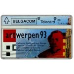 The Phonecard Shop: Belgium, Antwerpen 93, blue, 20 units