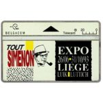 The Phonecard Shop: Belgium, Tout Simenon expo, 20 units