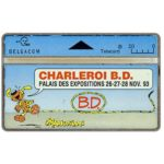 The Phonecard Shop: Belgium, Charleroi B.D., 20 units