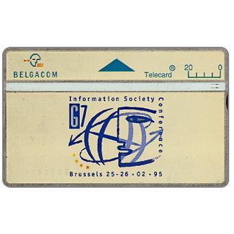 The Phonecard Shop: Belgium, G7, 20 units