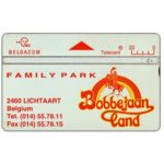 The Phonecard Shop: Belgium, Bobbejaanland, 20 units