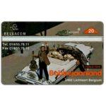 The Phonecard Shop: Belgium, Bobbejaanland, 20 units