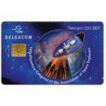 The Phonecard Shop: Belgium, 14th Planetory Congress of the Association of Space Explorers, 200 BEF