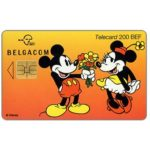 The Phonecard Shop: Walt Disney's Micky Mouse & Minnie, 200 BEF