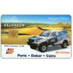 The Phonecard Shop: Toyota, Paris-Dakar-Cairo, 200 BEF