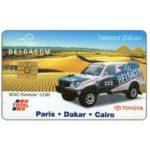 The Phonecard Shop: Belgium, Toyota, Paris-Dakar-Cairo, 200 BEF
