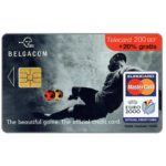 The Phonecard Shop: Euro 2000, Eurocard official credit card, 200 BEF