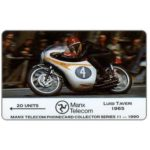 The Phonecard Shop: Isle of Man, TT Races 1990 - Luigi Taveri, 20 units