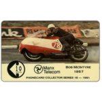 The Phonecard Shop: Isle of Man, TT Races 1991 - Bob McIntyre, 20 units