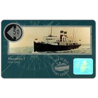 The Phonecard Shop: Ships, Manxman I, 50 units
