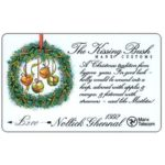 The Phonecard Shop: Isle of Man, Christmas 1992, The Kissing Bush, 20 units