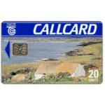 The Phonecard Shop: Cottage, Marlborough, glossy with batch number, chip SC-5, 20 units