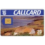 The Phonecard Shop: Cottage, Dame Lane, double Moreno logo, chip GEM1, 20 units