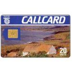 The Phonecard Shop: Ireland, Cottage, Dame Lane, double Moreno logo, chip GEM1, 20 units