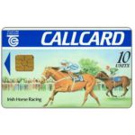 The Phonecard Shop: Irish Horse Racing, Dame Lane, gloss, single Moreno logo, chip GEM1, 10 units