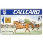 The Phonecard Shop: Ireland, Irish Horse Racing, Marlborough, matt, no Moreno logo, chip GEM1, 10 units